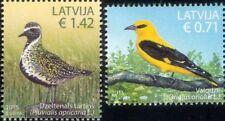 Latvia 2015 Oriole/Plover/Birds/Nature/Wildlife/Conservation 2v set (lv1014)