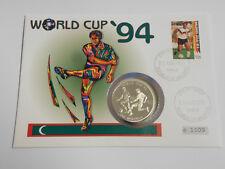 FUßBALL Numisbrief WM 1994 USA Jürgen Kohler Maledives 250 Rufiyaa Silber   #F69