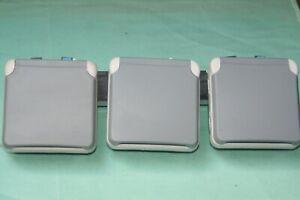Prise composable 2P+T 16A étanche 3 postes horizontale Plexo gris Legrand 69564