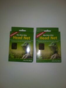 Coghlan's Mosquito Head Net Unisex Bug Netting Outdoor Camping Fishing 2-Pack