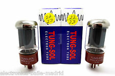TUNG-SOL 5881 MATCHED PAIR VACUUM TUBE TESTED!