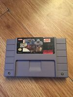 Emmit Smith Football Super Nintendo Snes Game BB1