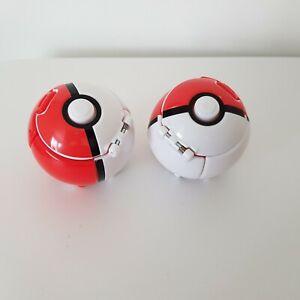Official Pokémon Throw N Pop Pokeball Poke Ball x2 (T19117 & T19118)