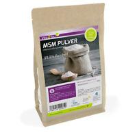 Vita2You MSM Pulver 1000g - (Methylsulfonylmethan) - 99,9% Reinheit - Schwefel
