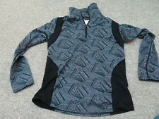 Kerrits Women's Equestrian Riding Pullover Long Sleeve 1/4 zip Size Small
