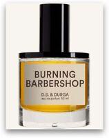 D.S. & Durga Burning Barbershop Eau de Parfum 1.7oz/50ml New In Box
