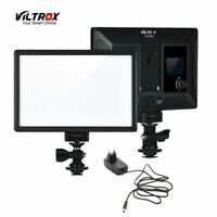 AU Viltrox L116T Ultra-Thin 176 LED Dimmable Video Light Panel Photography Lamp