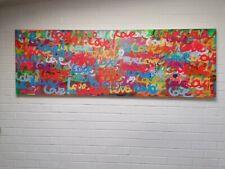 LOVE Original Art Graffiti Spray Paint Posca & GRōG paintpen