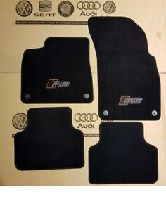 Original Audi A6 C8 A7 4K RS RS6 RS7 Velour Floor Mats Carpets 4pc Set only RHD