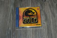 Mortal Kombat Gold (Sega Dreamcast) Guter Zustand, Komplett mit Anleitung & OVP