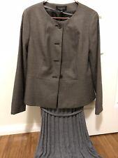 Talbots Petites sz 8P Brown Button Up Coat/ Jacket New Never Worn