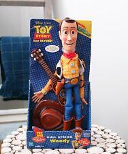 Disney Pixar TOY STORY & Beyond Pull String Woody - Hasbro - 2002
