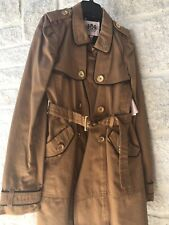 JUICY COUTURE NWT Children's/Girl's Ginger Glazed Classic Twill Trench Coat 12