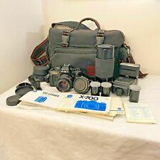 Minolta X-700 MPS Camera | 35mm | Film SLR Camera | Black | Tested Lot Clean!