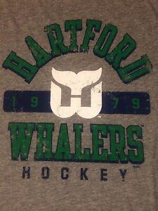 Hartford Whalers hockey T Shirt