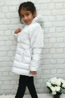 NEW AUTHENTIC ELSY RRP £279 AGE 4 YEARS GREY FUR DOWN JACKET COAT JK09