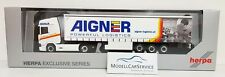 "Herpa Sondermodell: 933216 Scania Cr HD Gapl-Sz ""Aigner Logistics"" Austria"