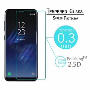New Tempered Glass Screen Protector Film Guard For Samsung Galaxy S8/S8 plus AU