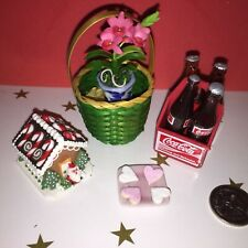 **FLOWER BASKET GIFT** +GINGERBREAD HOUSE +COCA-COLA BARBIE CHRISTMAS PARTY