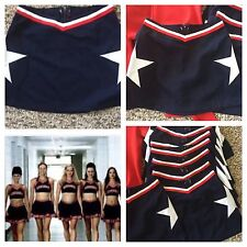 Real Cheerleading Uniform Skirt Red.wht.blue 24� Waist
