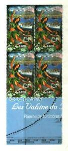 """WOMEN OF THE BOUNTY"" FR.POLYNESIA - PITCAIRN BLOCK MNH"