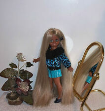 ☆Gorgeous AA Velvet ReRoot Doll☆Adorable Outfit/Shoes☆Crissy Family☆Gr8 4 C'Mas☆