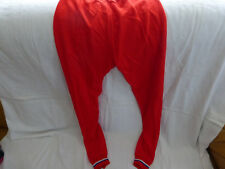 cuissard cycliste vintage-rouge-taille 4