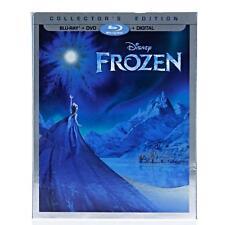 Disney FROZEN Blu-Ray + DVD + Digital HD New Sealed Movie Club Exclusive Sleeve