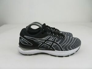 Asics GEL-Nimbus 22 White/Black 1011A680 Athletic Running Shoes Mens 9 M