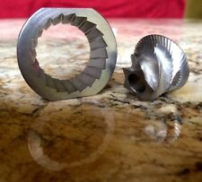 Capresso Infinity Conical Burr Set Grinding Replacement, Cone Millstone Grinding