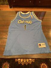 VINTAGE Orlando Magic Anthony Hardaway champion NBA basketball jersey Youth XL
