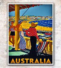 "Vintage Travel Poster Australia 12x16"" Rare Hot New A93"