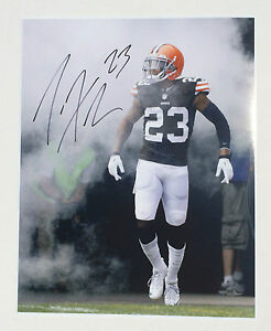 Cleveland Browns #23 JOE HADEN Signed Autographed 16x20 Football Photo COA PROOF