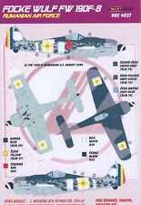 KORA Decals 1/48 ROMANIAN FOCKE WULF Fw-190F Fighter
