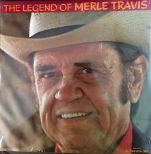 The Legend of Merle Travis 1990 Vinyl LP 2 Record Set NEW Country CMH-73914
