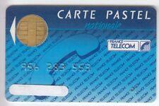 TELECARTE / PHONECARD .. CARTE FRANCE TELECOM PASTEL NAT. 1988 PUCE CP8 BULL N°6