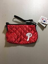 BRAND NEW PHILADELPHIA PHILLIES RED EMBROIDERED QUILTED WRISTLET FREE SHIPPING