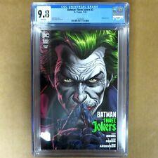 BATMAN THREE JOKERS #2 CGC Graded 9.8 DC Comics IN STOCK