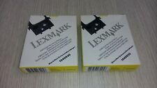Kit 2 nastro LEXMARK IBM 1040930 11A3540 originale nero per 2380/2480/2481/2491
