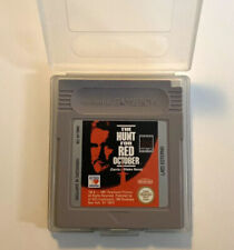 NINTENDO GAMEBOY THE HUNT FOR THE RED OCTOBER WITH PROTECTION COVER DMG-HF-ITA
