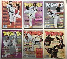 TaeKwonDo Times Magazine lot of 6 1993 Issues Tae Kwan Do Martial Art Karaté