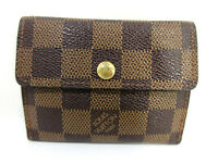 Auth Louis Vuitton Damier Ludlow N62925 Coin Purse Patent Leather Good 60874