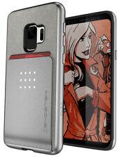 Galaxy S9 Case   Ghostek EXEC Hybrid Card Wallet Built-In Magnet for Car Mounts