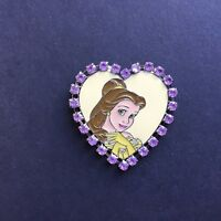 JDS - Jeweled Heart Belle Very RARE Beauty and the Beast Disney Pin 23390