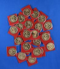 2009  D  Satin Finish Native American Dollar Roll  ( 25 coins )
