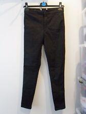 Ladies BNWOT Miss Selfridge Petite Black Steffi Jeans Size 10 (Z)