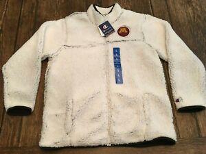 nwt MINNESOTA GOLDEN GOPHERS women's L CHAMPION zip up sherpa jacket SUPER SOFT