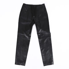 Gucci Leather Cropped Skinny Pants SZ 36