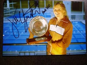 JILL STERKEL Hand Signed Autograph 4X6 Photo - OLYMPIC GOLD MEDAL SWIMMER