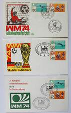 BRD,Fussball WM 1974,FIFA world cup,Erste Ausgabe 15.05.1974 Bonn,Mint